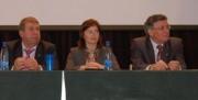 Члены  президиума конференции: Н.К, Сергеев, О.Н. Демченко, Н.Н., Чувальский