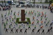 Волгоградские студенты организовали танцевальный флешмоб!