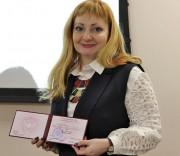 Преподавателю ВГСПУ Татьяне Боковой присвоено почетное звание «Профессор РАО»