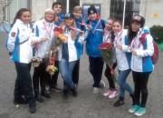 Команда «Наш стиль» завоевала путевку на Чемпионат Европы по  фитнес-аэробике-2014