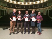 Лауреаты I степени Всероссийского конкурса «V Царицынский театральный форум»