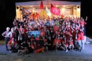 Дружная семья марафонцев