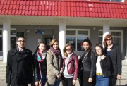 Представители факультета исторического и правового образования ВГСПУ встретились с будущими абитуриентами в Палласовском районе