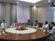 Переговоры с Тяньцзиньским институтом прикладного искусства