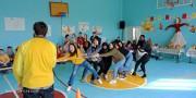 Иностранные студенты института русского языка и словесности знакомятся с русскими традициями