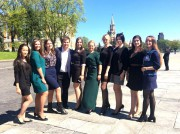 Студенты ВГСПУ приняли участие в официальной церемонии вступления в должность Президента России
