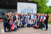 Студенты ВГСПУ приняли участие в региональном патриотическом  форуме «Пестрое небо»