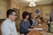 В ВГСПУ прошла встреча ректора с иностранными преподавателями