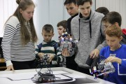 В ВГСПУ прошли соревнования по робототехнике «Ступени ROBOMIRа – 2019»