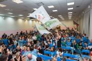 Делегация профкома студентов ВГСПУ принимает участие в финале Всероссийского конкурса «Студенческий лидер-2018»