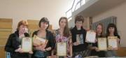 1 место по литературе Екатерина Амирова, Мария  Полякова  и участники из группы ФЛ-Л-31
