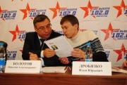 В Президиуме форума  «Сохраним историю России» Н.Н. Болотов и И.Ю. Дробязко