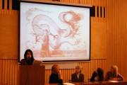 С докладом выступает студентка 4 курса Ангелина Александрова