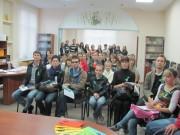 Первая встреча со слушателями в Институте Конфуция в ВГСПУ