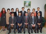 Китайская делегация у ректора Н.К. Сергеева