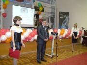 Ректор ВГПУ проф. Н.К. Сергеев на открытии олимпиады