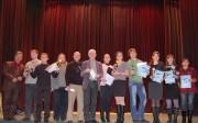 Члены жюри определили лучшие работы и наградили авторов специальными призами.