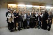 Коллектив театра после посещения музея истории ВГСПУ