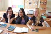Чешские студентки на семинаре