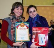 Победительницы в номинации «Комната дружеской атмосферы» Селиверстова Светлана и Мугинова Лилия