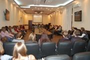 Встреча со студентами и преподавателями