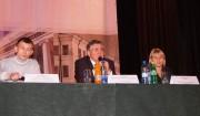 В президиуме: Н.К. Сергеев, И.Ю. Дробязко и Я. Фролова