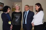 Л.С. Бейлинсон с депутатами Гордумы