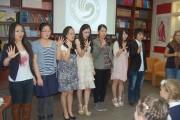 Китайские студенты считают до пяти