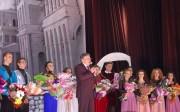 Поздравление с премьерой от ректора Н.К. Сергеева