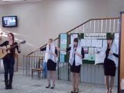 Выступление студентов СКП