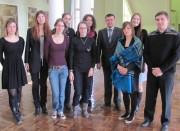 А.М. Коротков со стажерами из Франции