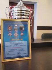 Сборная команда ВГСПУ заняла в турнире 2 место