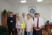 Встреча участников конференции с ректором Н.К. Сергеевым