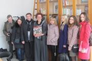 Делегация ВГСПУ на встрече с директором Института подготовки преподавателей госпожой Софи Женело