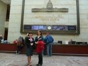 Марина Корнихина в Конгрессе США