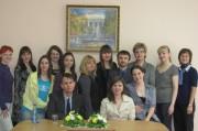 Марк Богдан со студентами и преподавателями