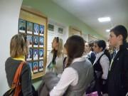 Участники ШМИШ на экскурсии по университету