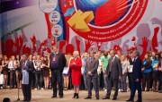 Призы вручает ректор Н.К. Сергеев