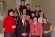 Н.К. Сергеев со студентами заочной формы обучения