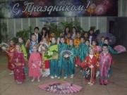 Китайские студентки и учащиеся школы-сада № 4