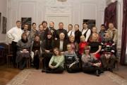 Артисты с П.А.Сорокиным
