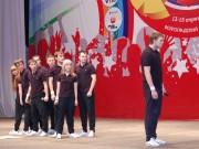 Выступление сборной ВГПУ