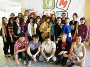 Участники Школы молодого исследователя для школьников