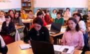 Институт иностранных языков ВГСПУ организовал профориентационный выезд в Палласовский район