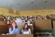 В ВГСПУ состоялась встреча с писателем