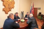 Губернатор Андрей Бочаров провел встречу с Николаем Константиновичем Сергеевым  и Юрием Васильевичем Лепёхиным