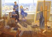 Анастасия Бычкова «В мастерской художника»