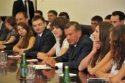 Встреча В. Зубкова с волгограскими студентами