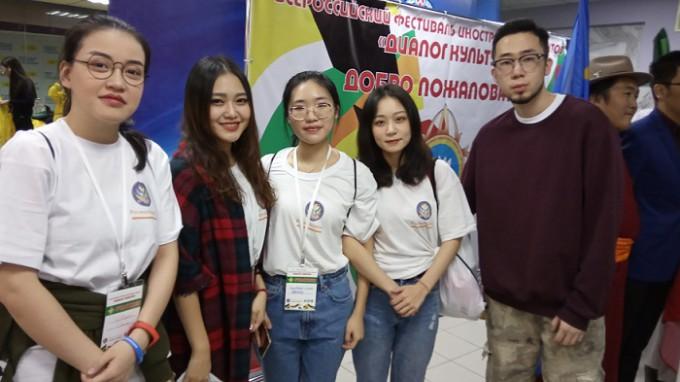 Студенты Института международного образования приняли участие в диалоге культур