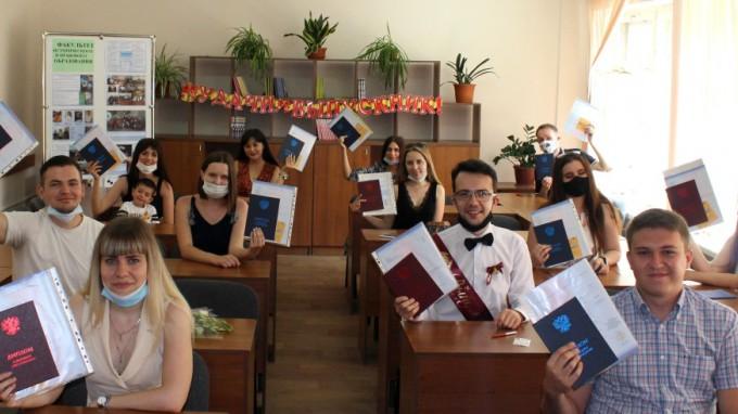 На факультете исторического и правового образования ВГСПУ состоялся выпускной